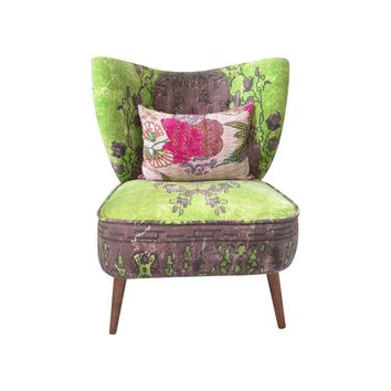Pre-owned Anthropologie Dhurrie Occasional Accent Chair
