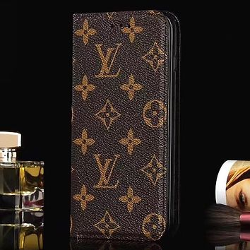 Perfect Louis Vuitton LV  Phone Cover Case For Samsung Galaxy s8 s8 Plus S9 S9 Puls note 8 note 9  iphone 6 6s 6plus 6s-plus 7 7plus 8 8plus