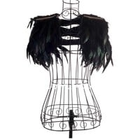 Festival Stage Feather Shoulder Costume Piece