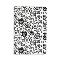 """Nicole Ketchum """"Cherry Floral White"""" Everything Notebook"""