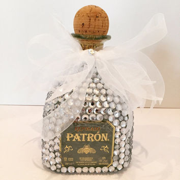 Tequila patron bling bling bottle