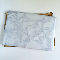Marble and Gold Mac Book Air 11, 13, and Mac Book Pro 13, 15, New 12