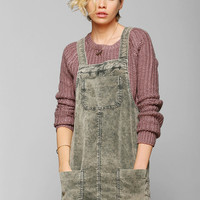 BDG Washed Corduroy Overall Skirt - Urban Outfitters