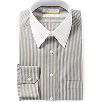 Gold Label Roundtree & Yorke Regular-Fit Point-Collar Dress Shirt - Gr