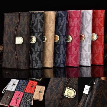 Leather Case for iPhone X 6 6s 7 8 Plus 5 SE 5S PU Wallet Phone Bags for Women