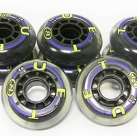 TRUE SPORT Inline Skate Replacement Wheels 70mm 82a SET OF 8