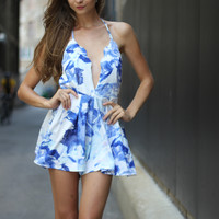 Blue Water Romper