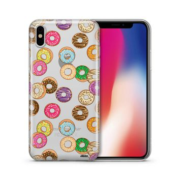 Donut Pandemonium - Clear TPU Case Cover