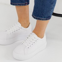 Truffle Collection wide fit flatform sneakers | ASOS
