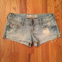 Hollister Denim Shorts Size 0