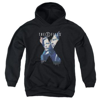 X Files - X Agents Youth Pull Over Hoodie