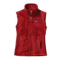 Patagonia Women's Re-Tool Fleece Vest | Cochineal Red - Wax Red X-Dye