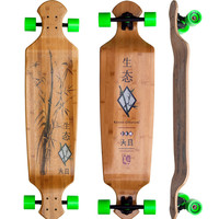 "Drop Deck 43"" Longboard Complete - Bamboo - 2nd"