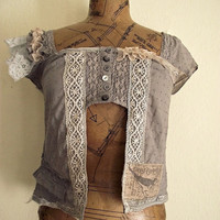 Bohemian blouse by NaturallyBohemian on Etsy