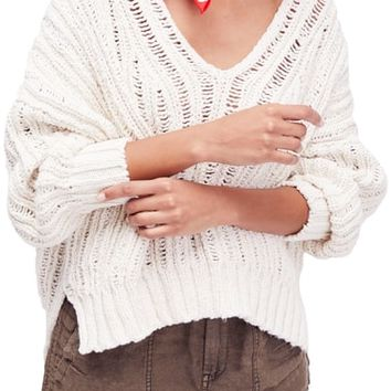 Free People Infinite V-Neck Sweater | Nordstrom