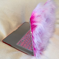 Faux Fur Laptop Case