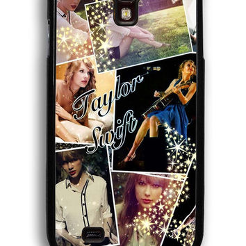 Taylor Swift Collage for Samsung Galaxy S4 Hard Cover Plastic