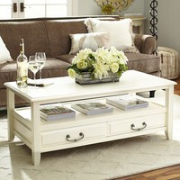 Anywhere Coffee Table - Antique White