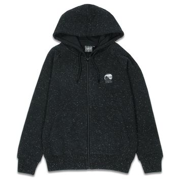 Peppy Jacquard Equinox Howl Womens Zip-Up Hoodie