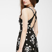 Floral Cross-Back Dress