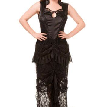 NEVERMIND DRESS Gothic Alternative VICTORIAN DRESS by Banned Apparel. Plus earn REWARD POINTS!