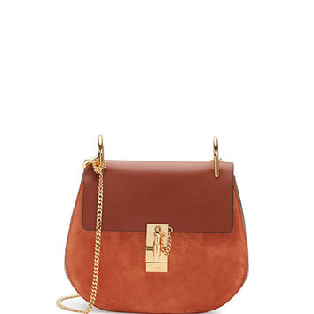 Chloe Drew Small Chain Saddle Bag | Neiman Marcus