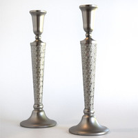 Metalace Lexie Candlesticks