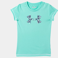 Girls' Pre-School UA Spotlight Core Logo T-Shirt | 1242232 | Under Armour US