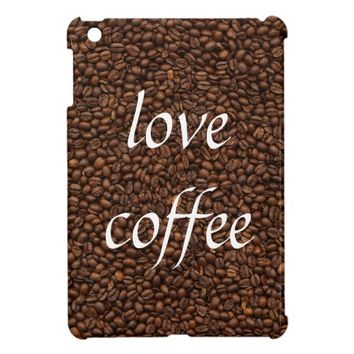 Love Coffee - Pile of Beans iPad Mini Case Cover