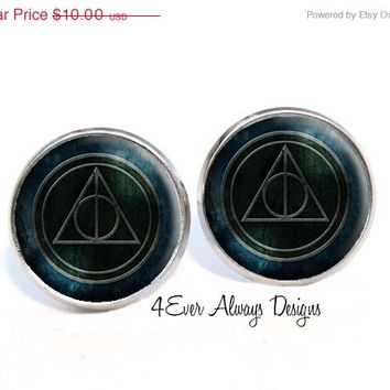 ON SALE Harry Potter and the Deathly Hallows Earrings