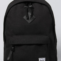 The Woodlands Backpack in Black Canvas