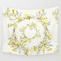 Natsukashii - for Spring Wall Tapestry by anipani