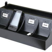 Smartphone Charging Station - Transitional - Desk Accessories - by Great Useful Stuff