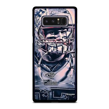 ROB GRONKOWSKI NEW ENGLAND PATRIOTS Samsung Galaxy Note 8 Case Cover