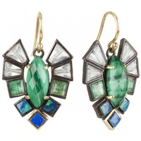 Nak Armstrong - Mixed Stone and Gold Earrings (Multi)