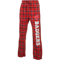 Wisconsin Badgers Acclaim Flannel Pants – Cardinal