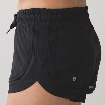 Lululemon Women Fashion Casual Yoga Sport Shorts