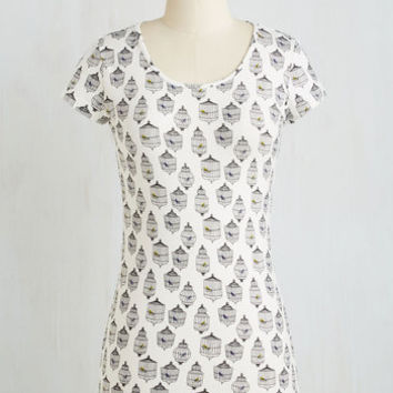 Critters Mid-length Short Sleeves Precious Pets Top by ModCloth