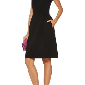 Wool-blend faille dress | Oscar de la Renta | US | THE OUTNET