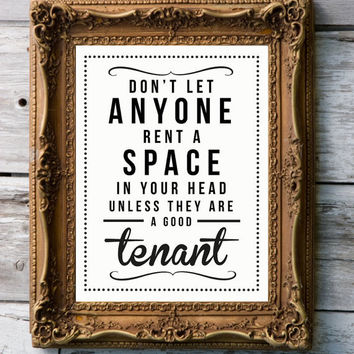 Retro  Art Print 'Tenant' by RockTheCustardPrints