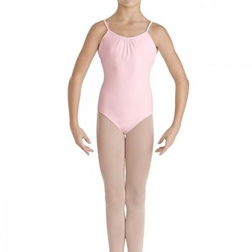 Bloch Girl's Camisole Leotard with V back