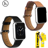 Original HOCO Cowhide Genuine Leather Strap For Apple Watch Series 2 Watch Band For iWatch 42mm 38mm New in Retail Package