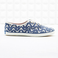 Keds Champion Ikat Trainers in Blue - Urban Outfitters
