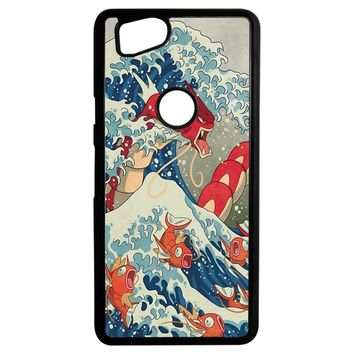 The Great Wave Off Kanto 2 Google Pixel 2 Case