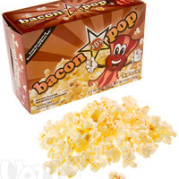 Bacon Flavored Popcorn: 3-Pack of Microwaveable Bacon Popcorn