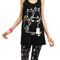 I Really Like Cats Tank - Tanks - Women's Online Store