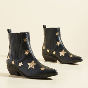Starlet Light, Starlet Bright Bootie | Mod Retro Vintage Boots | ModCloth.com
