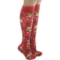 The Big Bang Theory Bazinga Pattern Socks