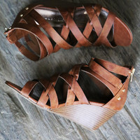 High Five by Madden Girl {Cognac}