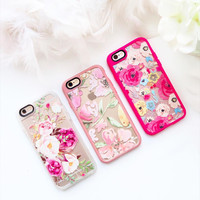 Flower iPhone 6s & 6s Plus Case (Watercolour Floral Bouquet Pattern) by Casetify